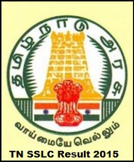 Tamil Nadu SSLC Class 10th Result 2015 | TN SSLC Class X Examination Result