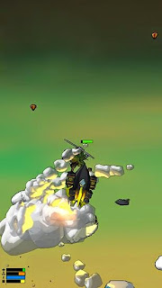 Screenshots of the Rocket craze 3D for Android tablet, phone.