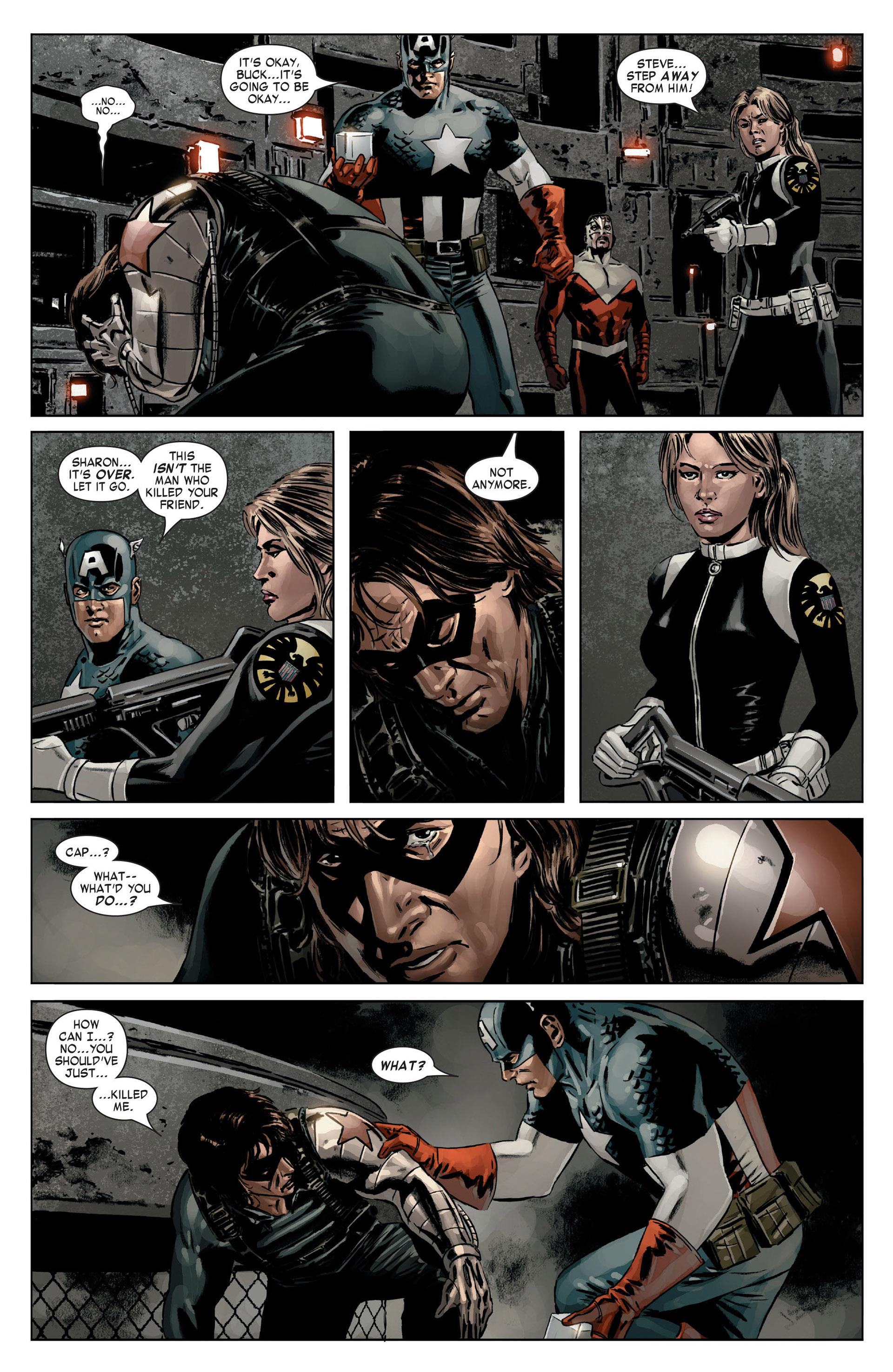 Captain America (2005) Issue #14 #14 - English 19