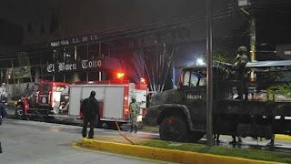 Un grupo armado incendia las oficinas de un periódico en Córdoba, Veracruz