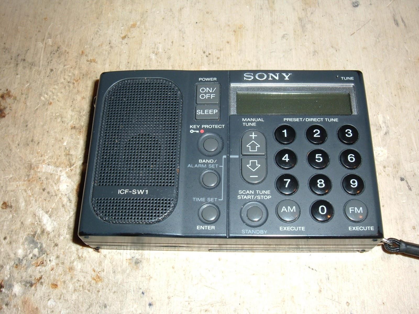 Der Bastelbunker - Die Basteldoku: Sony ICF SW - 1 Empfangs und ...
