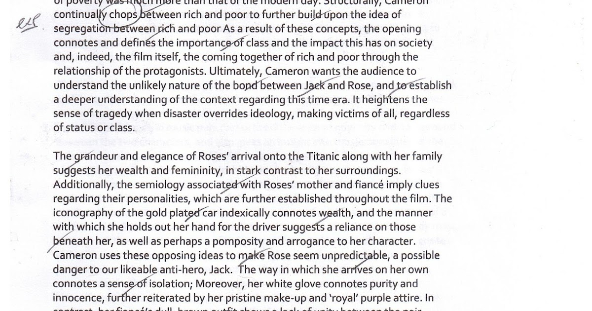 on the titanic essay on the titanic