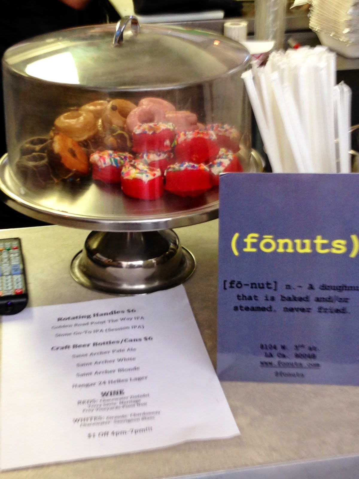 Fonuts at Project Taco Wilshire Los Angeles - Hello, Handbag