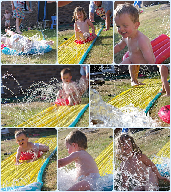 Garden fun with water this summer