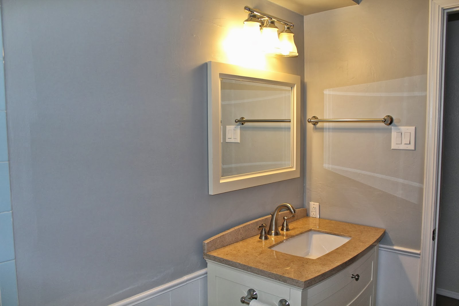 Bedrooms and hall bathroom tour emma marie designs for Hall bathroom ideas