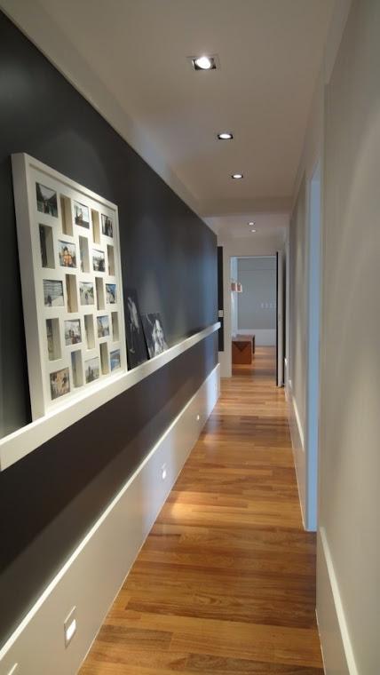 Tu organizas como decorar o corredor - Como pintar el pasillo de mi casa ...