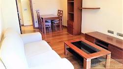 Apartamento amueblado en alquiler en el Papagayo, garaje. A Coruña