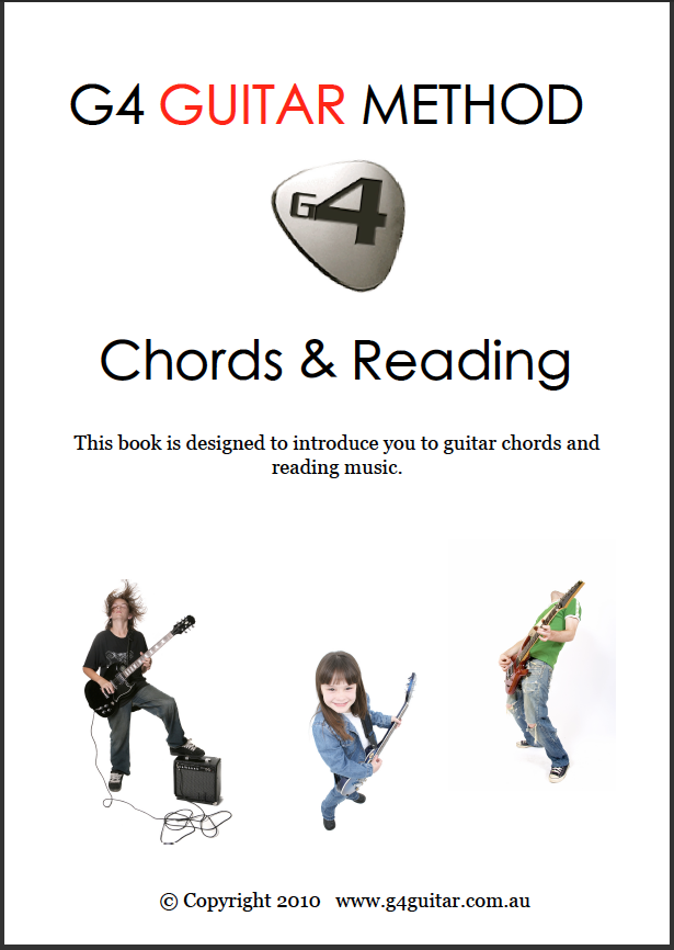 The Chords and Reading Book | G4 Guitar Method Student Site
