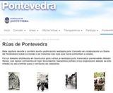 Rúas de Pontevedra