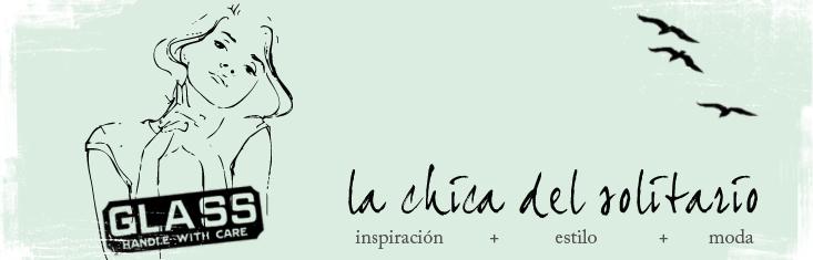 La chica del solitario-spanish blog moda y estilo