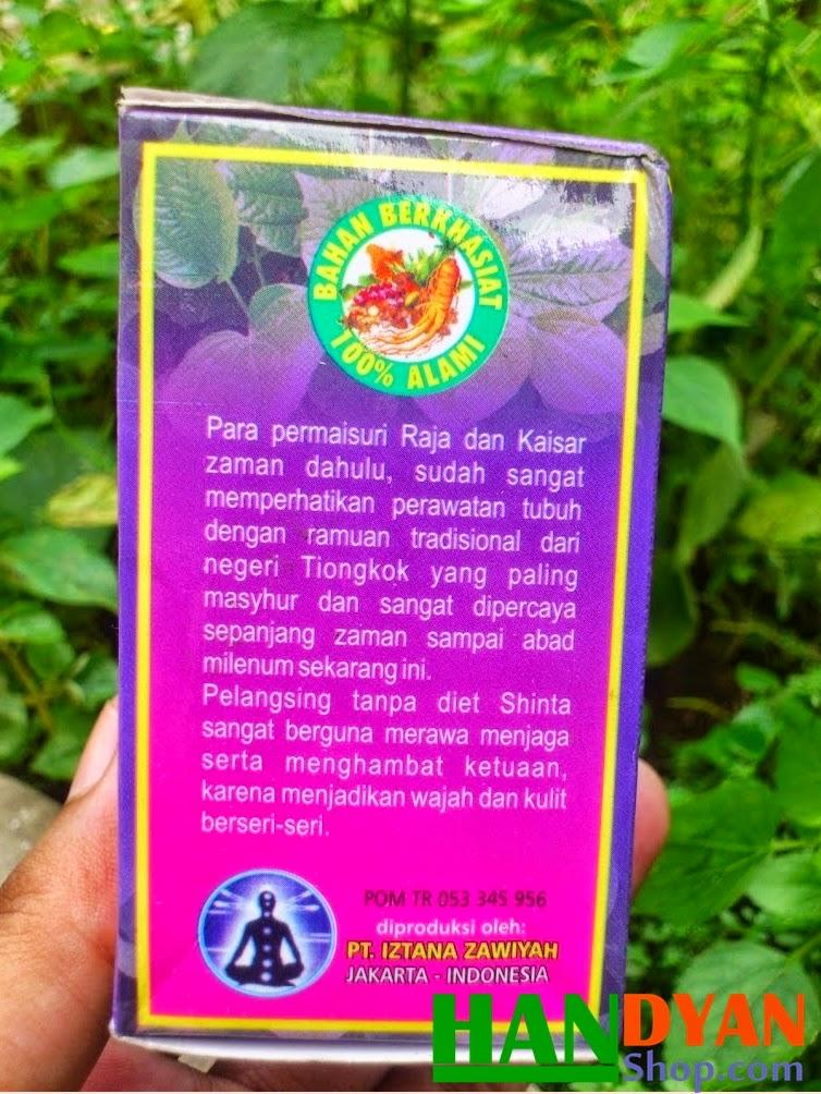 Suplemen Jamu Pelangsing As-Syifa Izza Original