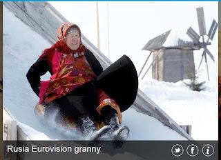 inovLy media : Rusia Eurovison granny