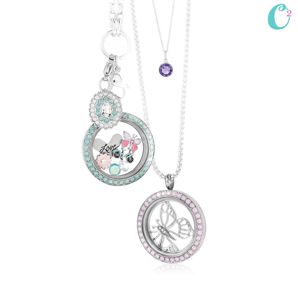 Origami Owl Signature Opal Collection by Swarovski available at StoriedCharms.com