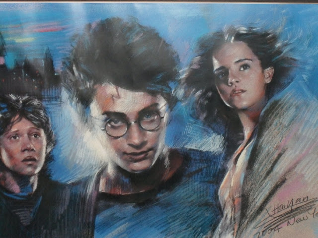 Harry potter poster paintings : amazing art work