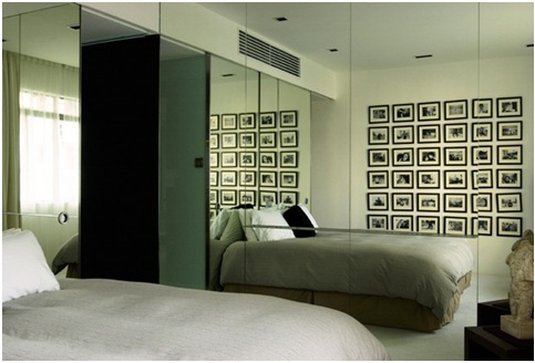 MIRRORS IN THE BEDROOM – HOW TO USE MIRRORS TO EXPAND SPACE – DECORATING WITH MIRRORS