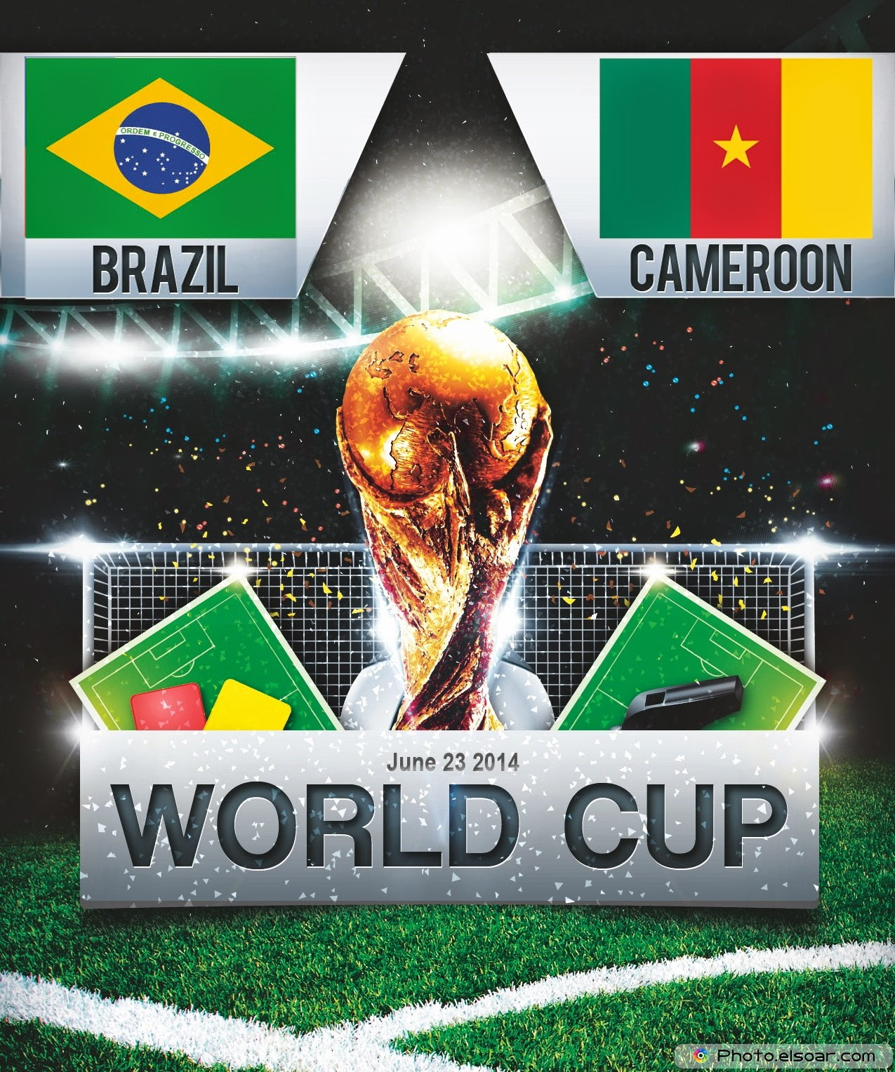 FIFA World Cup 2014 - Brazil Vs Cameroon