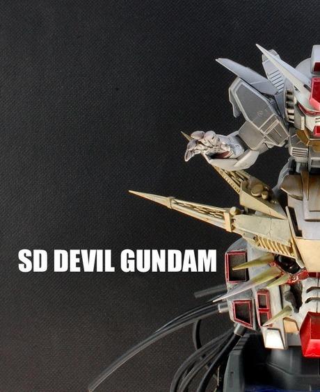 sd devil gundam custom work model kit
