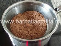 Ciocolata cu cocos preparare reteta