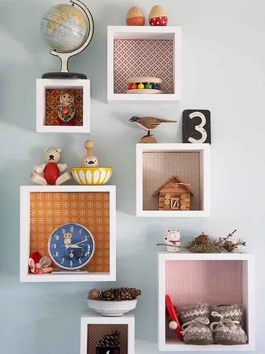 Decora o de quarto de beb - Objetos para decorar paredes ...