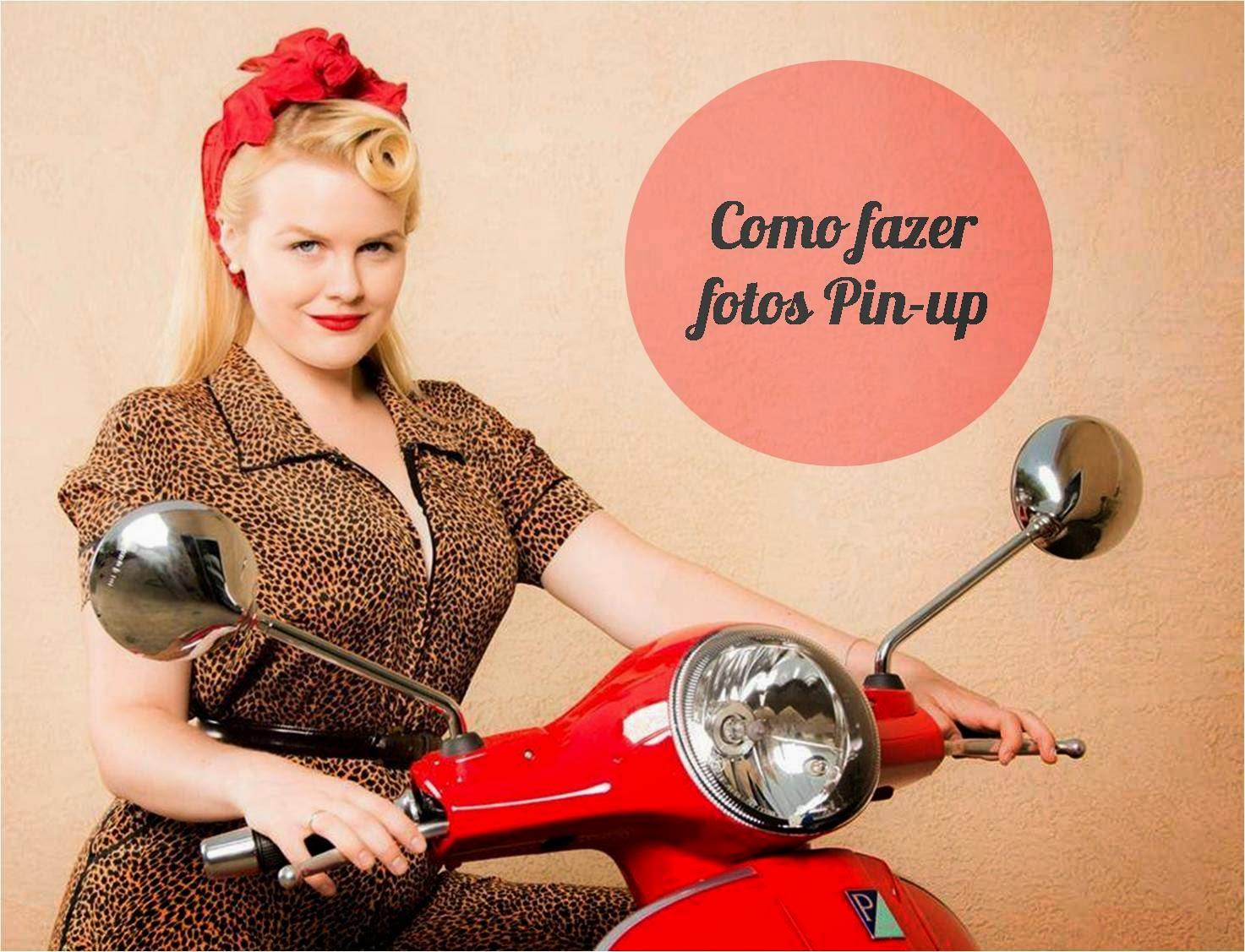 Sesión Pin-Up - Cursos de Fotografía en Madrid Fotoaula