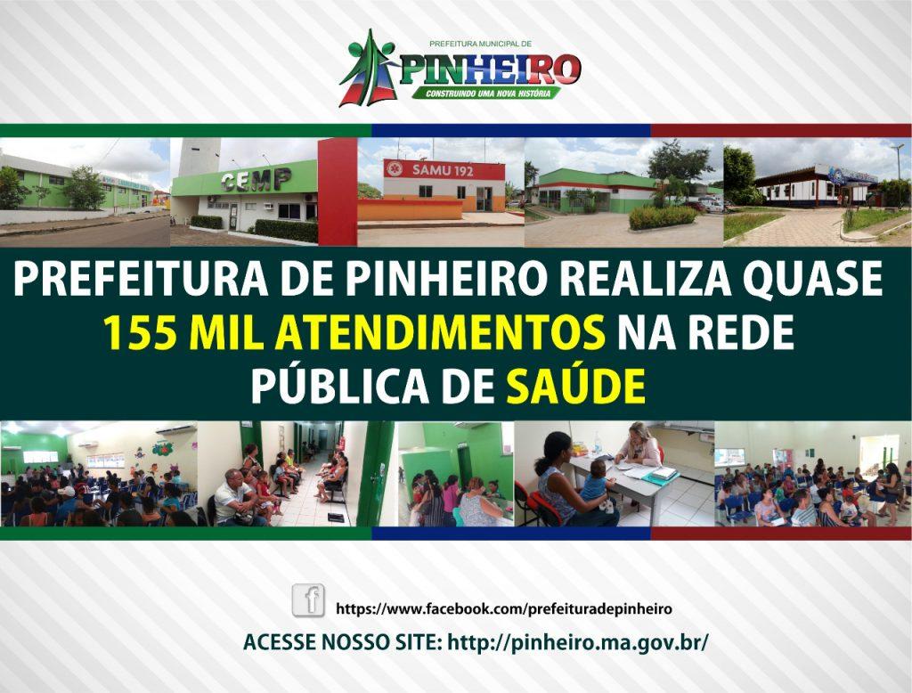 PREFEITURA MUNICIPAL DE PINHEIRO, CONSTRUINDO UMA NOVA HISTÓRIA