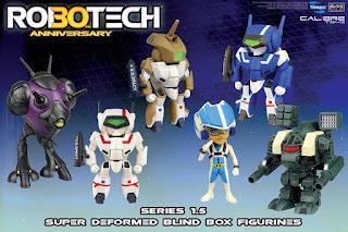 Robotech Series 1.5 Super Deformed Blind Box Figurines