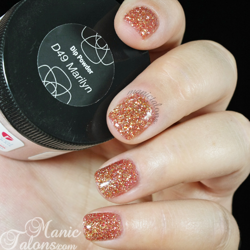 Revel Nail Acrylic Dip Powder in D49 Marilyn