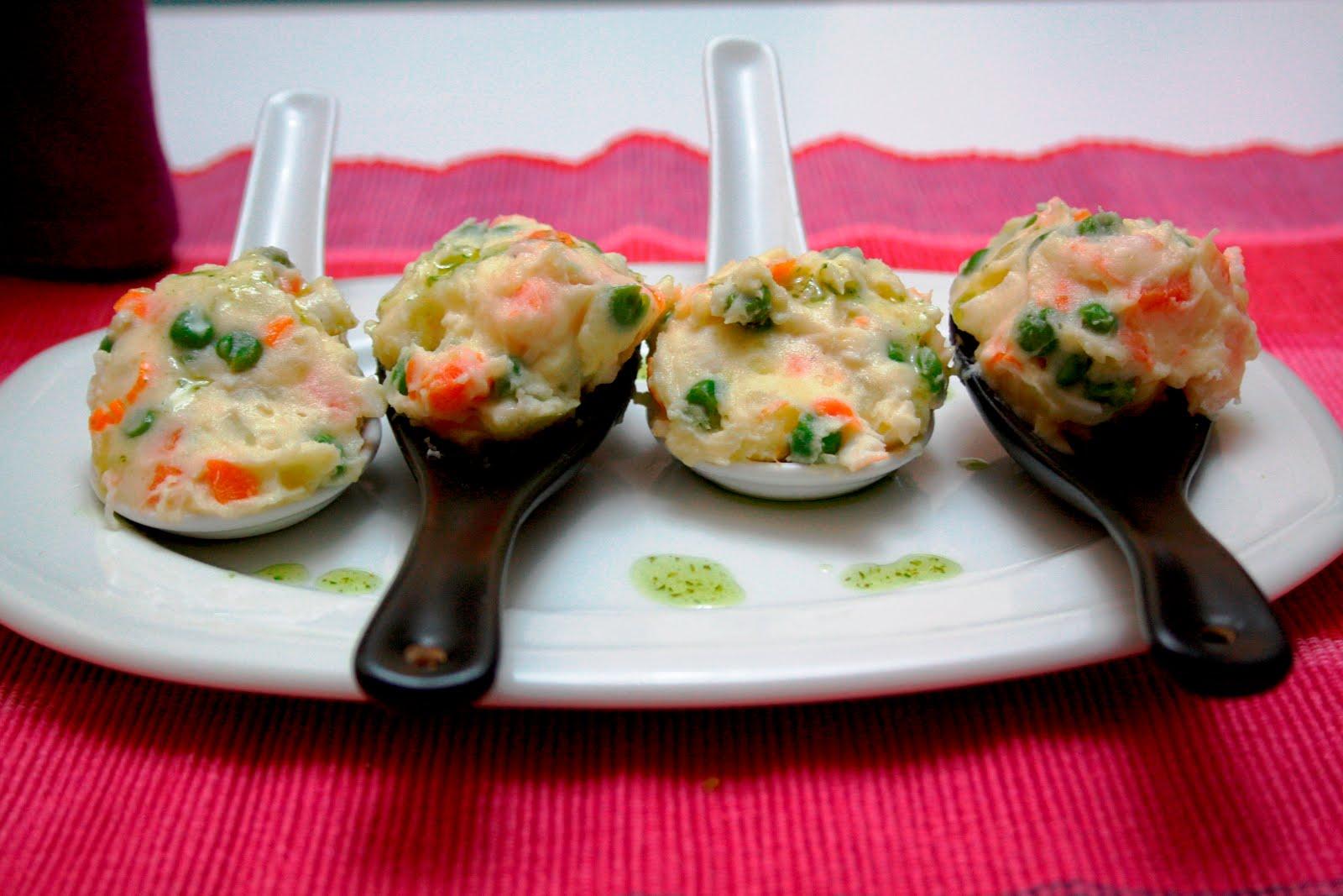 La cocina de maricarmen ensaladilla de gambas y huevo - Cocinas maricarmen ...