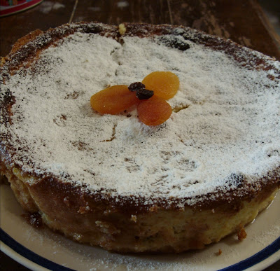 Eat The Blog Cottage Cheese Cake With Raisins And Citrus