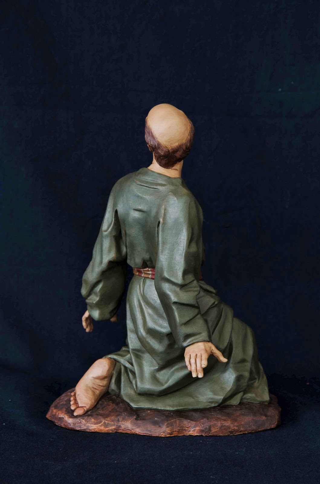 Belén presepe nativity krippe Arturo Serra escultura barro cocido 20