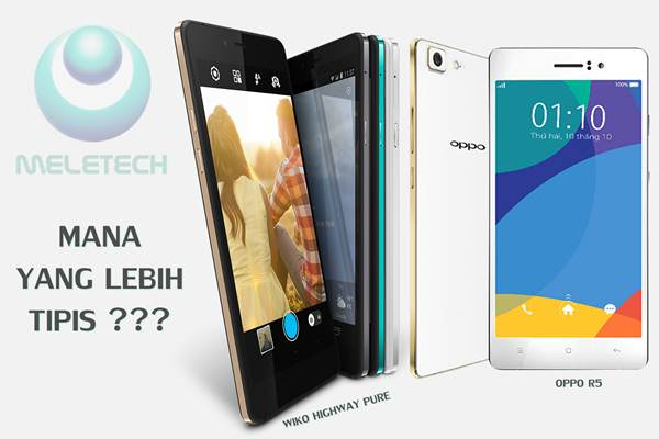 wiko highway pure vs oppo r5