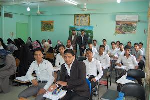 طلبة المرحلة الاولى-قسم الجغرافيا