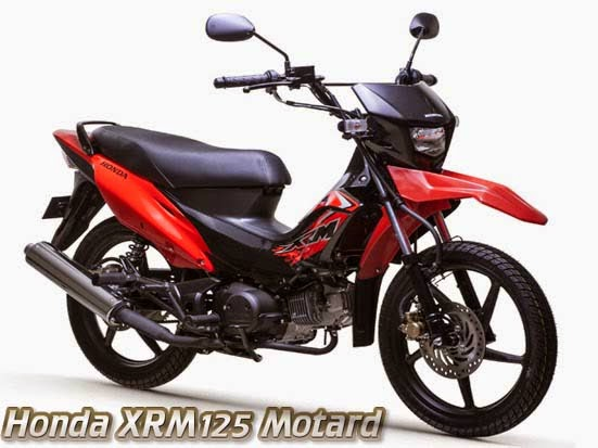Honda XRM125 Motard Fighting Red