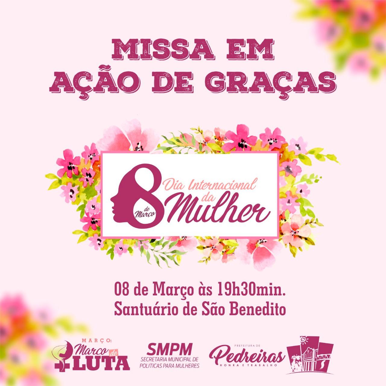 MISSA AÇÃO DE GRAÇAS DA MULHER