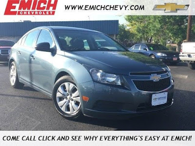 2012 Chevrolet Cruze LS at Emich Chevrolet