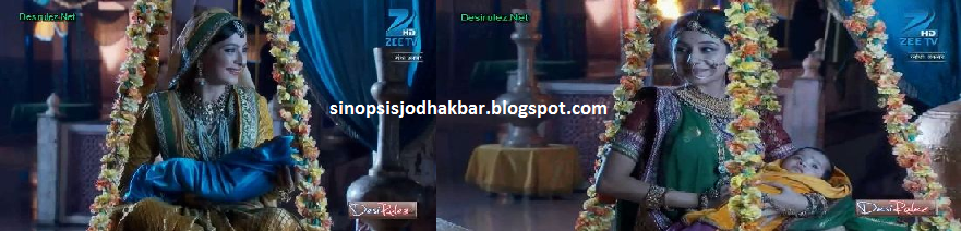 jodha memberikan anaknya pada ruqaiya