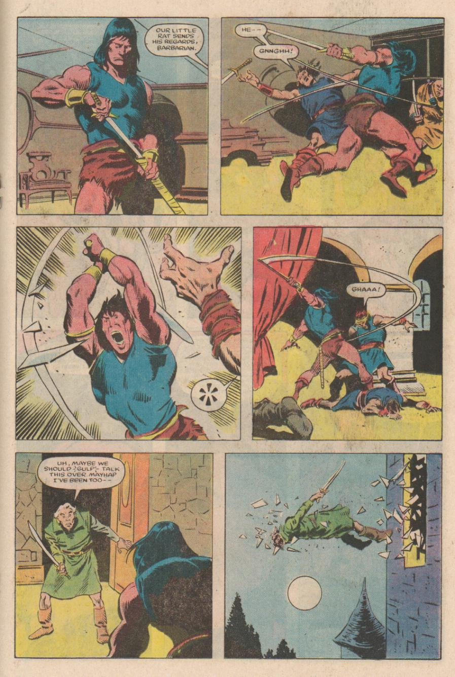 Conan the Barbarian (1970) Issue #167 #179 - English 14