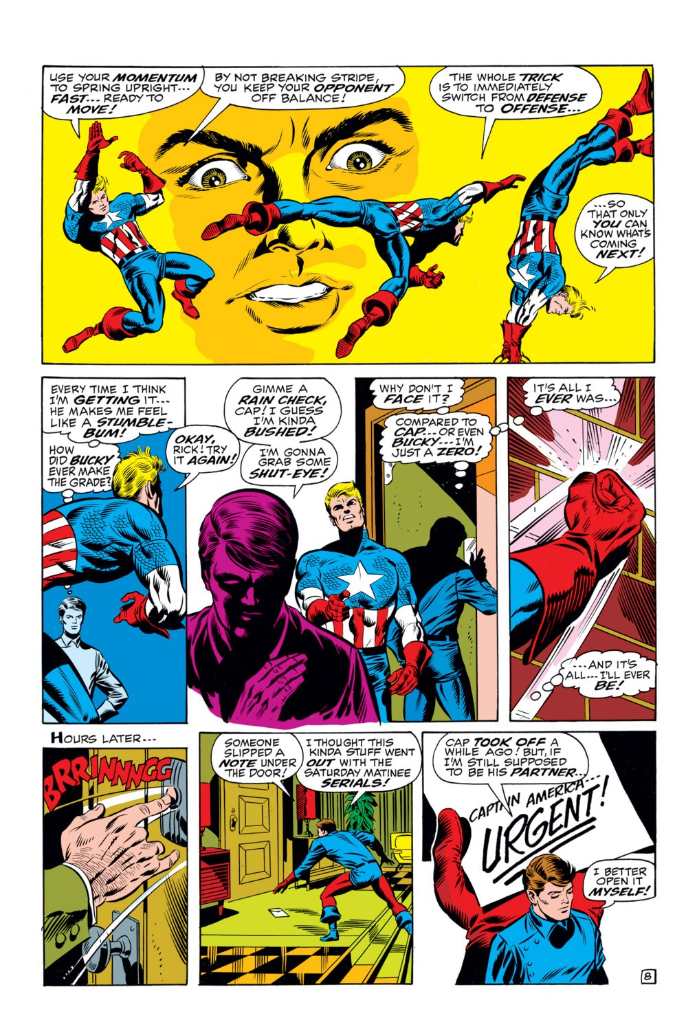 Captain America (1968) Issue #111 #25 - English 8