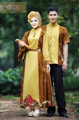 Aneka Model Baju Muslim Couple Fitria Style Terbaru