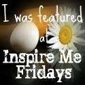 I was Featured at Inspire me Fridays