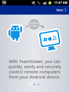Team Viewer Application for Android ~ TechnoClouds