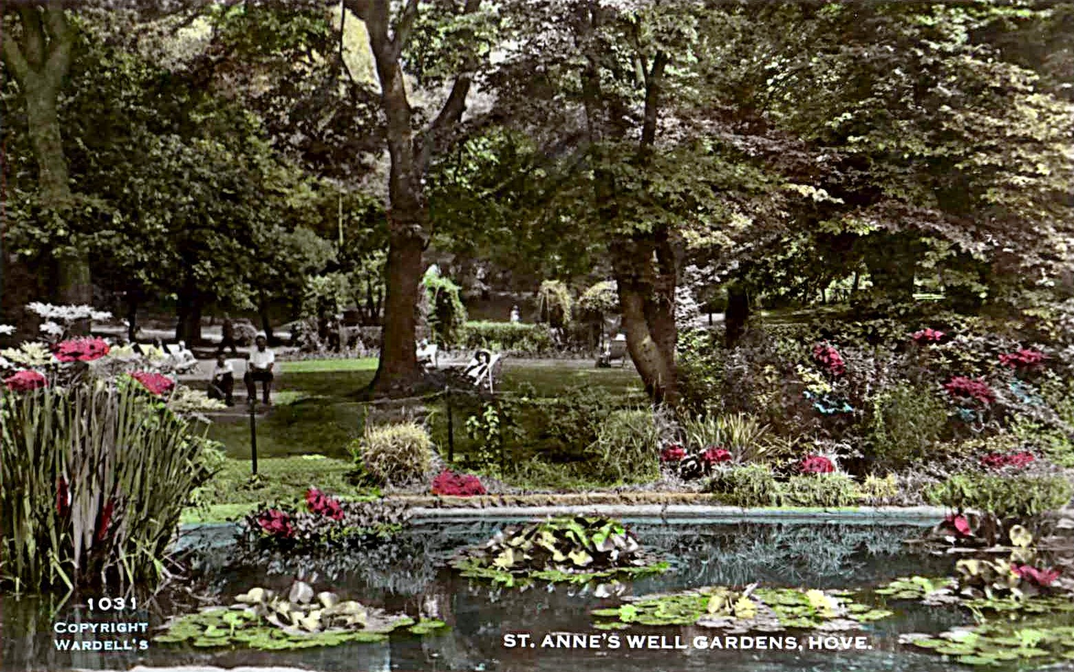 Hove in the Past: St Ann\'s Well Gardens, Hove