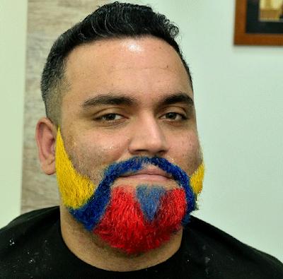 Como tingir a barba