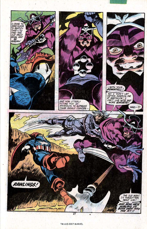Captain America (1968) Issue #256 #171 - English 29