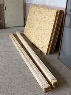 Wood for the floor in Sassy's room