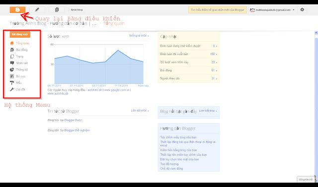 Làm quen với giao diện mới của Blogger-Blogspot Munu+tong+quan+blogger