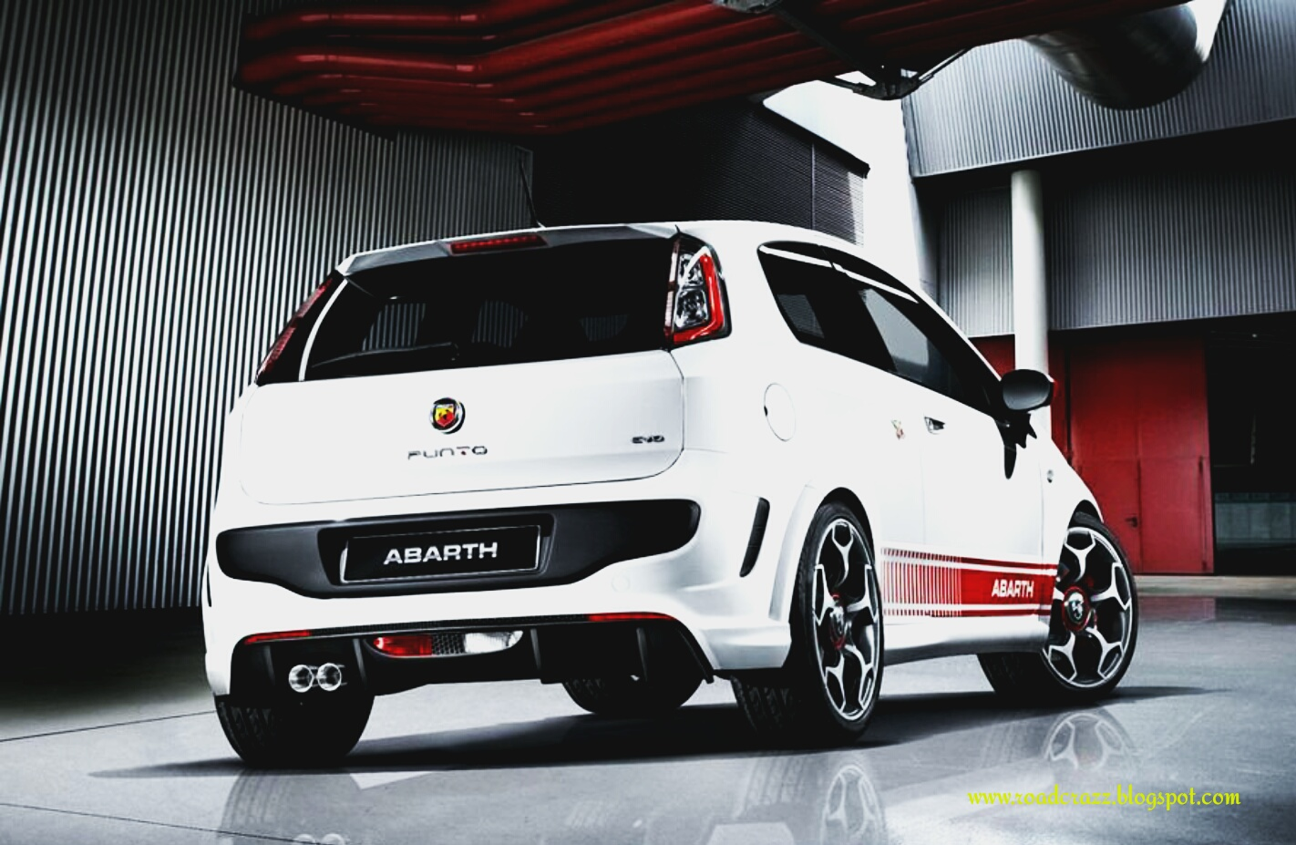 road crazz fiat punto abarth evo full specifications. Black Bedroom Furniture Sets. Home Design Ideas