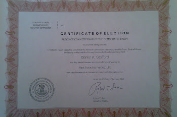 Certificate of Election - 2010