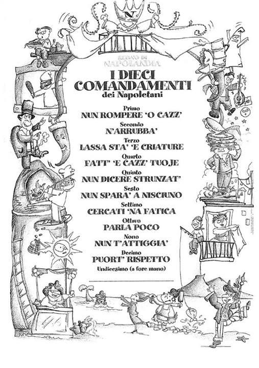 i 10 comandamenti spaccanapoli bologna - photo#25