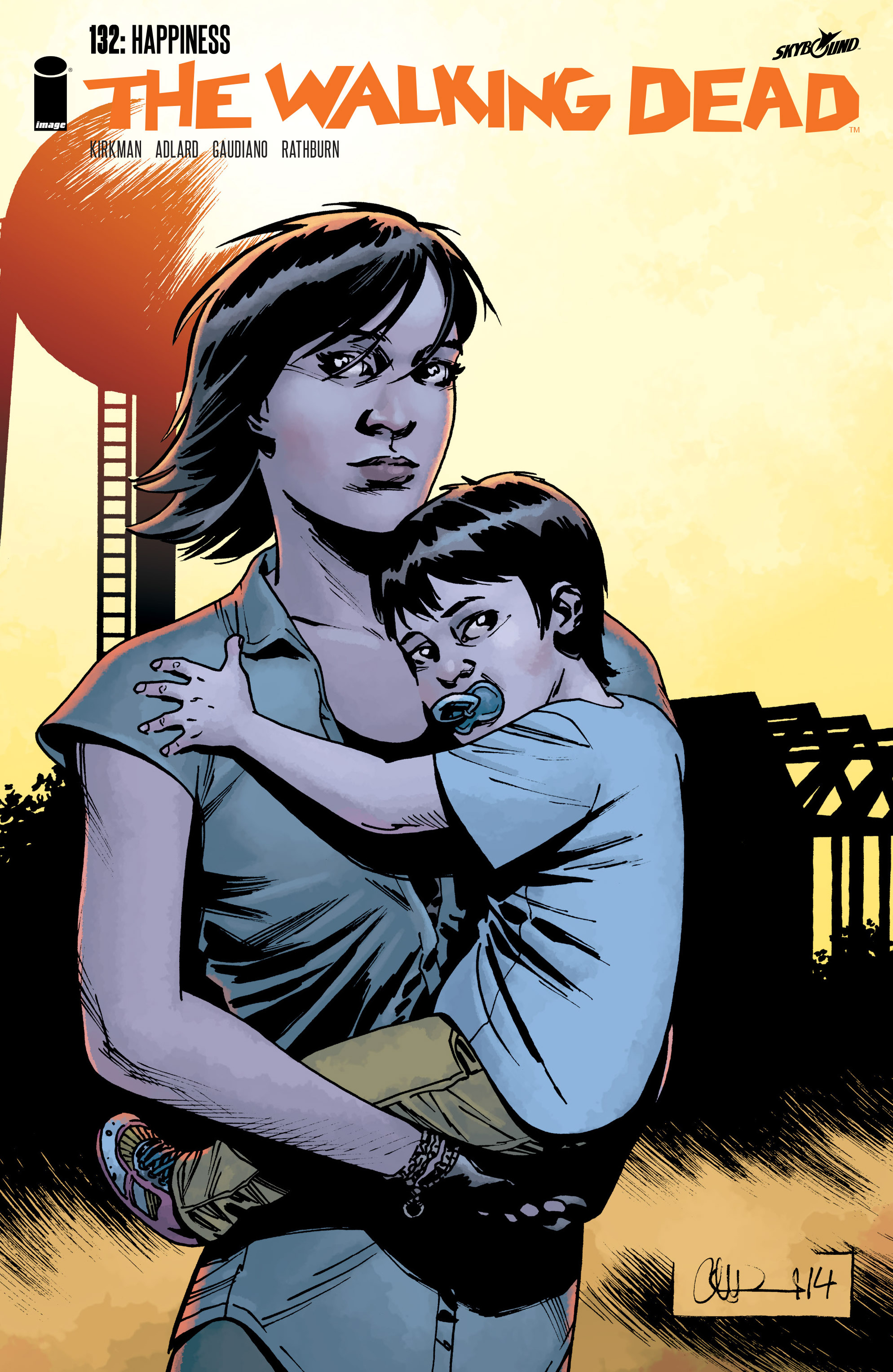 The Walking Dead Issue #132 Page 1
